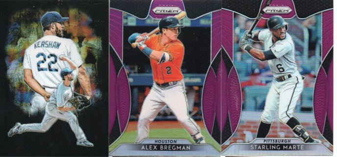 (3) 2019 Panini Prism Refractor Cards