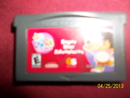 Nick Jr. DORA Super Star Adventures Nintendo Gameboy Advance DS Lite Game