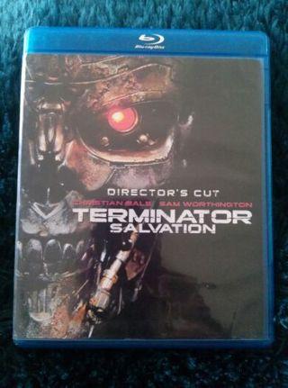 Terminator Salvation Blu-ray DVD/movie