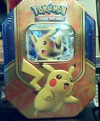 Pokemon Battle Heart Pikachu-EX Collector Tin 2016
