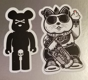 2 Decal Stickers *ShipsFREE in US*