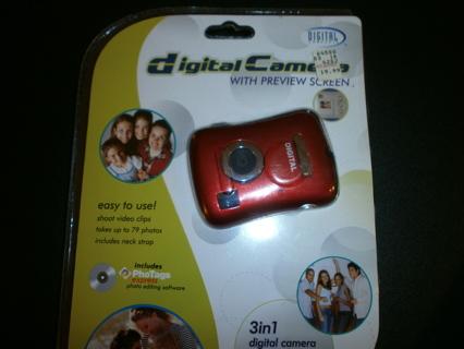 Digital Camera 3 in 1