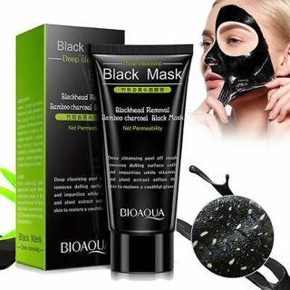 BIOAQUA BQY5662 Blackhead Removal Bamboo Charcoal Peel off Face Mask 60g