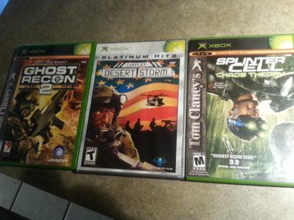 3 xbox games