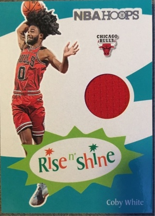Coby White Rookie Jersey Rise N Shine Chicago Bulls UNC Tarheels