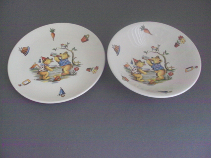 Vintage Baby Dishes Staffordshire Old Foley England