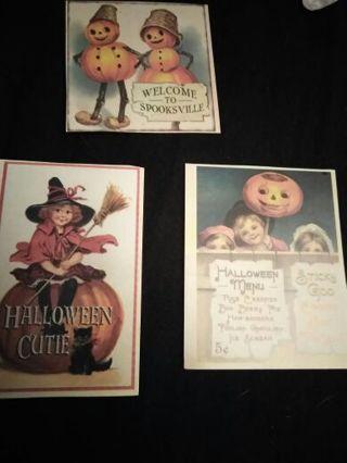 3 Halloween Die Cuts