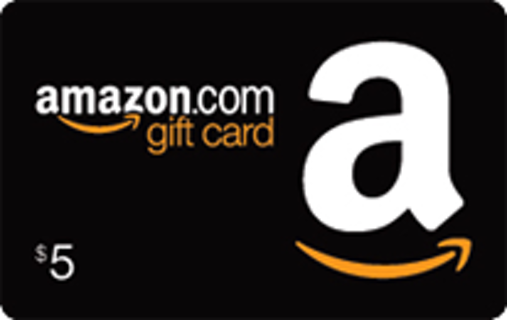 Five $ Dollar Amazon Gamestop Starbucks gift card