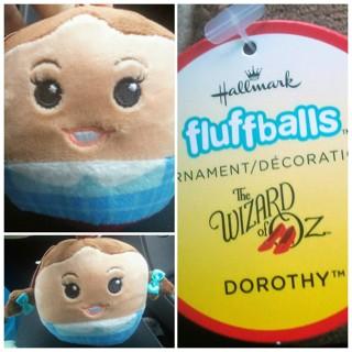 ❤ Rare Wizard of Oz Dorothy Fluffball by Hallmark! ❤