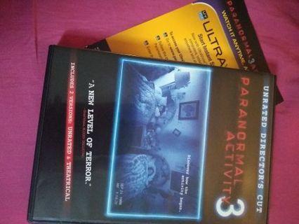 Paranormal activity 3 uv code