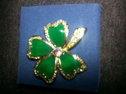 St. Patrick's pin