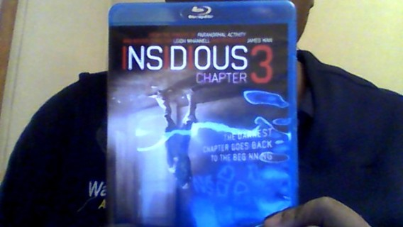 Blu-ray Insidious Chapter 3