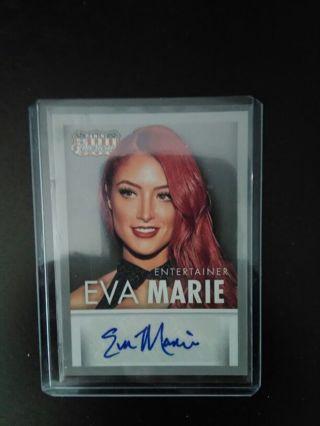 WWE/NXT Diva Eva Marie Authentic Autograph Panini Card