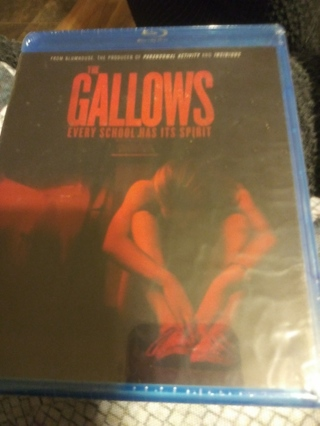 THE GALLOWS BLUE RAY FACTORY SEALED