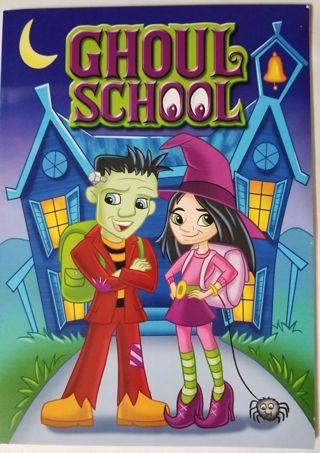 GHOUL SCHOOL Coloring & Activities book