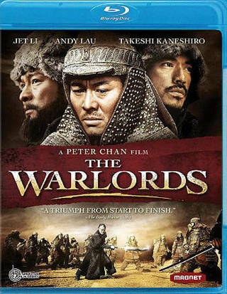 2010 The Warlords-Jet Li (Blu-ray Movie Disc)-New & Sealed-Rated R