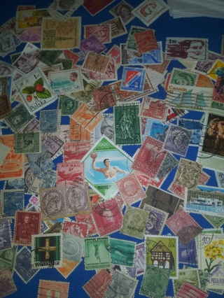 A45) Stamp Lot