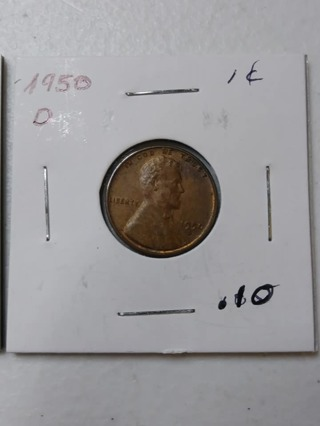 1950-D Lincoln Wheat Penny! 28