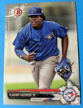 VLADIMIR GUERRERO ROOKIE * SEQUENTIALLY NUMBERED PROMO CARD 204/499