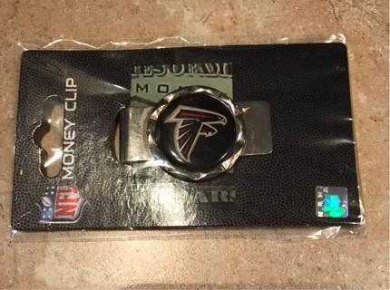 Atlanta Falcons NFL Money Clip new