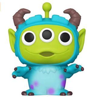Funko Pop! Disney: Pixar Alien Remix - Sulley, Multicolor, 3.75 inches