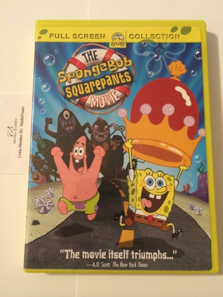 free nickelodeon the spongebob squarepants movie full screen