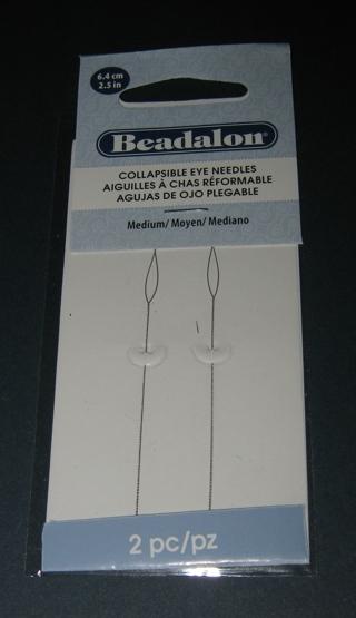 BEADALON ® COLLAPSIBLE EYE NEEDLES!!