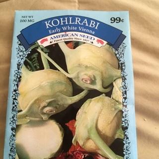 Kohlrabi seeds