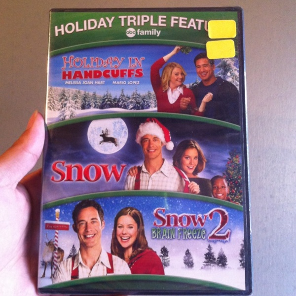 Free: 3 ABC Family Holiday Christmas Movies Melissa Joan Hart Mario Lopez, Snow - Christmas - Listia.com Auctions for Free Stuff