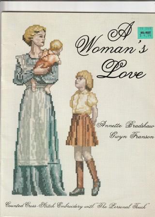 Cross Stitch Craft Leaflet: A Woman's Love