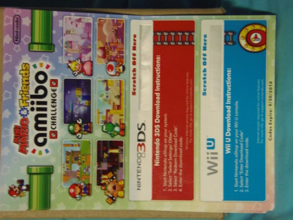 Free: Mini Mario & Friends Amiibo Challenge Mini Game Download Code