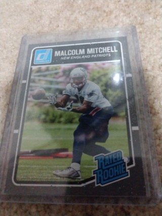 2016 Panini donruss football Malcolm Mitchell rookie New England Patriots