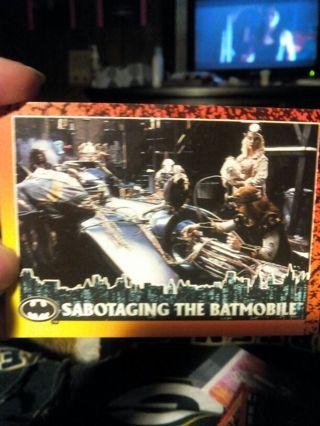 Batman return cards #51 #14 #17