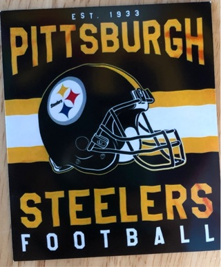 """PITTSBURGH STEELERS - 2 x 3"""" MAGNET"""