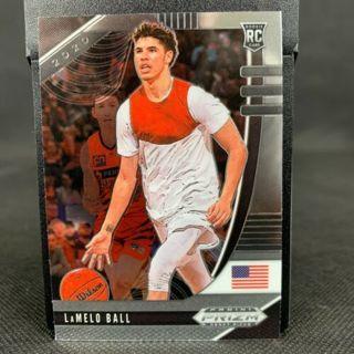 2020 Panini Prizm Draft Picks LaMelo Ball Chrome Rookie No.43 Hornets
