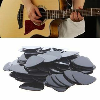 Lot 100pcs Acoustic Electric Guitar Picks 0.71mm Plectrums Musical Instrument
