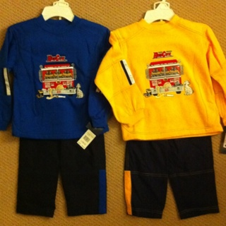 Two Boy's 2-piece Sets Size 6