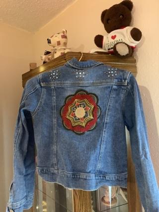 Jean jacket 10-12 girls
