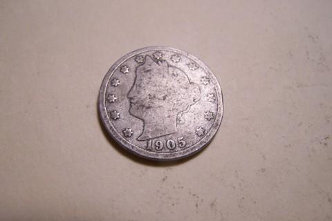 "1905 Liberty Head ""V"" Nickel"