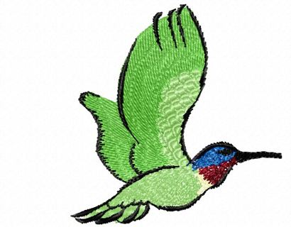 Free Hummingbird Machine Embroidery Design 4x4 Sewing Listia