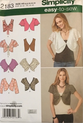 Simplicity/ Easy-to-sew-#2183