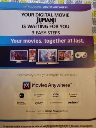 Jumanji the next level digital copy