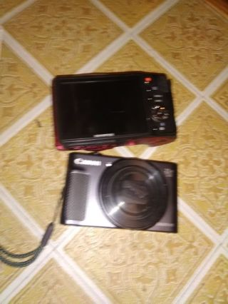 Olympus video and digital camera