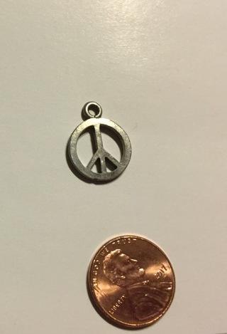 Pewter Peace Pendant