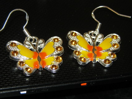 Beautiful Orange Beautiful Earrings