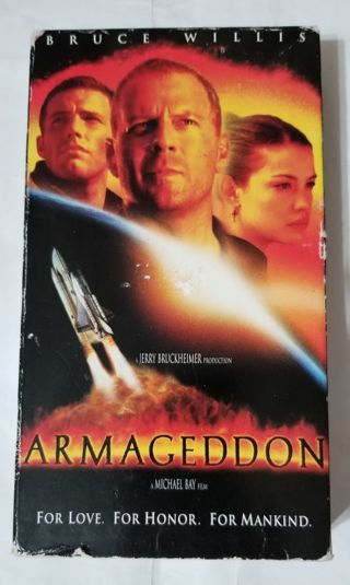 Armageddon with Bruce Willis