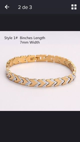 GENUINE 18K Real Gold Filled Over Solid Copper Bracelet