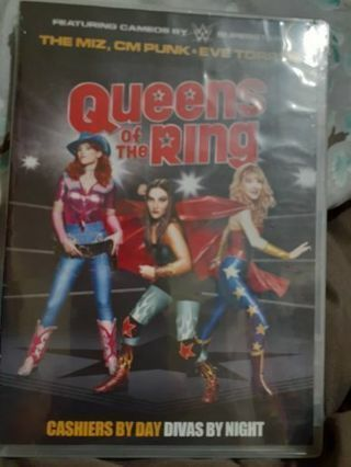 WWE superstars Queens of the Ring Dvd