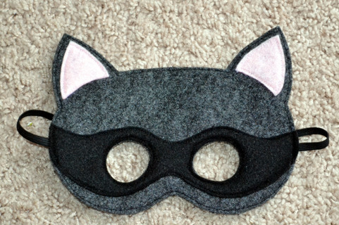 Free: Homemade Raccoon Felt Mask Childrens - Other Craft