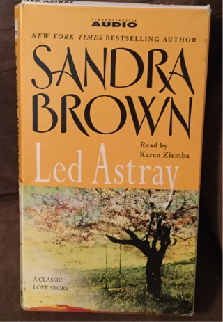 Audio Book on CASSETTE by Sandra Brown